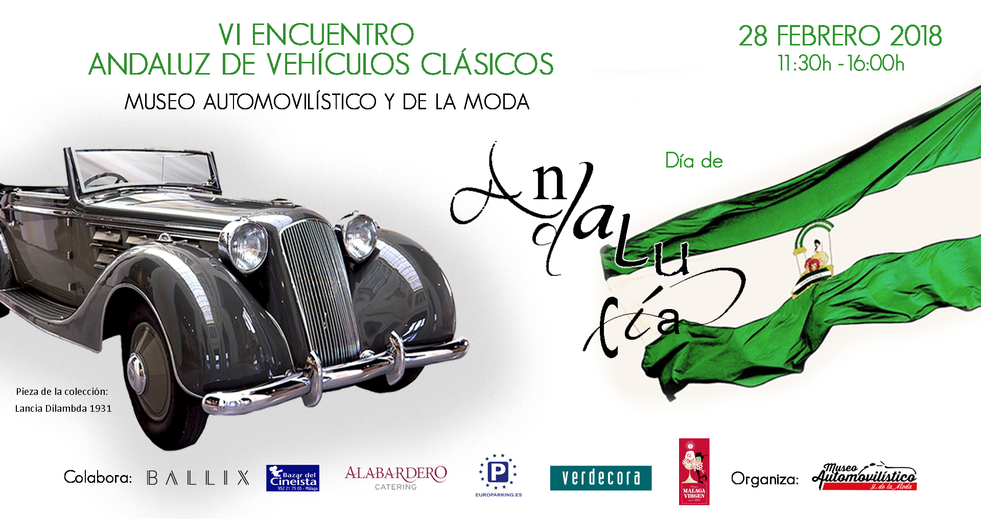 6th edition of Andalusian Meeting of Classic Vehicles – ATENTION: VI MEETING CANCELATION